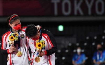 Greysia-Apriyani Raih Emas Olimpiade, Erick Thohir: Nanti Kita Kasih Hadiah