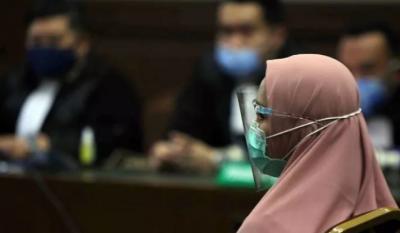 Pinangki Kemungkinan Satu Sel dengan Ratu Atut di Lapas Tangerang