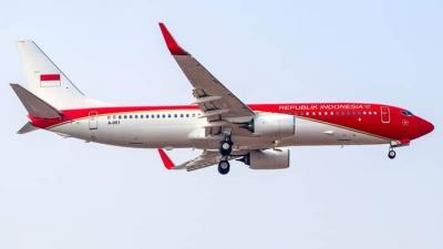 Pesawat Presiden Dicat Merah-Putih, Sudah Beroperasi Sejak 17 Juli 2021