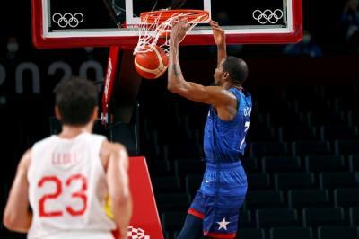 Hasil Perempatfinal Basket Olimpiade Tokyo 2020: Amerika Serikat Hantam Spanyol