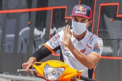 Jelang MotoGP Styria 2021, Marc Marquez Tak Yakin Bisa Sehebat Dulu Lagi