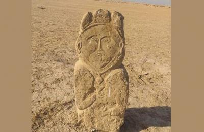 Patung Wanita Berhijab Usia 1.300 Tahun Ditemukan di Kazakhstan, Siapa Dia?