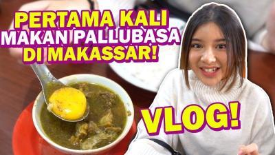 Intip Keseruan Tiara Andini Nyanyi dan Kulineran di Makassar