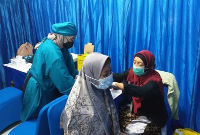 Sentra Vaksinasi MNC Peduli Bersama MVN Sediakan Tempat Khusus Wanita Berhijab