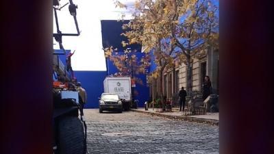 Intip Penampilan Doctor Strange di Lokasi Syuting Spider-Man: No Way Home