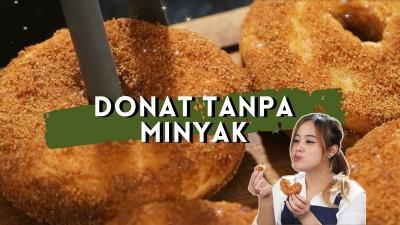Resep Donat Sehat Air Fryer ala Chef Stefani Horison