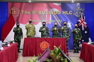 Panglima TNI dan CDF Australia Pimpin Sidang ke-9 Ausindo HLC 2021, Bahas Kerjasama Lebih Erat