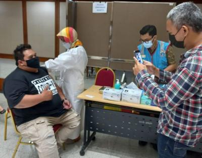 Vaksinasi Covid-19 untuk Pedagang Pasar Masih Minim