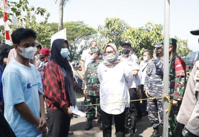Vaksinasi TNI AL Kembali 'Serbu' Warga Kabupaten Bogor