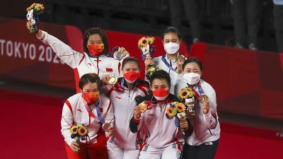 Greysia Apriyani Disanjung Netizen China Usai Sabet Emas Olimpiade Tokyo 2020