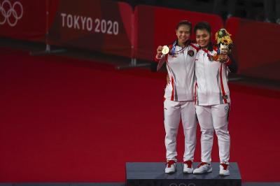 Indonesia Huni 3 Besar di Klasemen Akhir Bulu Tangkis Olimpiade Tokyo 2020