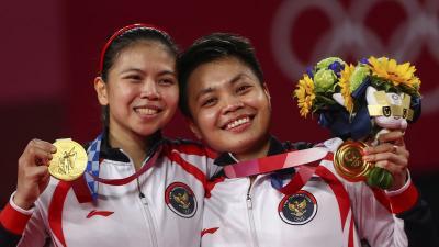 Dukungan Masyarakat Indonesia Jadi Alasan Gresyia Polii Apriyani Rahayu Bisa Rebut Medali Emas di Olimpiade Tokyo 2020