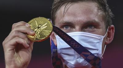 Segel Medali Emas Olimpiade Tokyo 2020, Viktor Axelsen: Terima Kasih atas Dukungannya