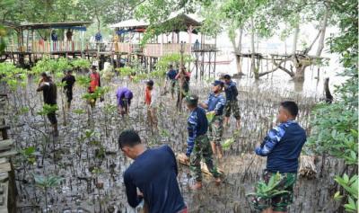 5.000 Pohon Mangrove Hiasi Kawasan Wisata Pantai Terih Batam