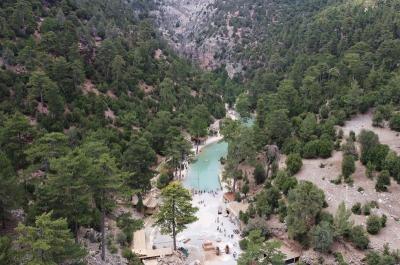Canyon Acipayam, Wisata Alam Eksotis di Tengah Hutan Turki