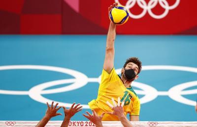 Pevoli Brasil Ini Selalu Kenakan Masker saat Tanding di Olimpiade Tokyo 2020, Ini Alasannya