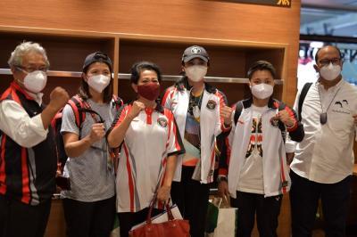 Olimpiade Tokyo 2020: Dubes Heri Akhmadi dan Raja Sapta Oktohari Antar Kloter Terakhir Tim Indonesia Pulang ke Tanah Air