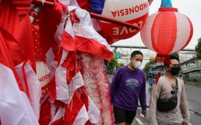 Curhat Pedagang Bendera Jelang Hari Kemerdekaan RI: Mudah-mudahan Bisa Untung