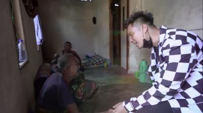 Hidup Hanya Berdua, Baim Tolong Sepasang Kakek Nenek Di Rumah Teka Teki GTV