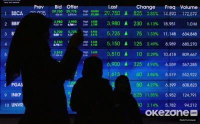 Euforia Ekonomi Meroket 7,07%, IHSG Ditutup Perkasa ke 6.205