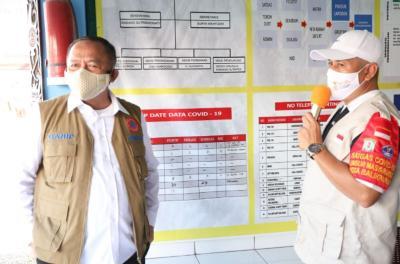 Tinjau Pos PPKM Tingkat RT di Kaltim, Kasatgas Sampaikan Tiga Pesan Penanganan Covid-19
