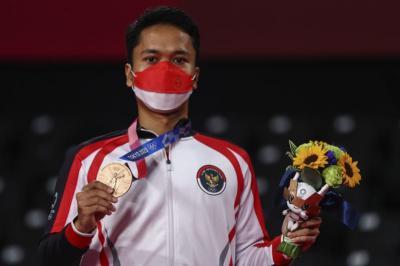 Anthony Ginting: Semoga Medali Perunggu Olimpiade Tokyo 2020 Ini Bisa Hibur Masyarakat Indonesia