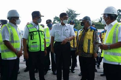 Kendalikan Banjir Jakarta, 3 Menteri Jokowi Cek Proyek Sodetan Sungai Ciliwung