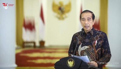 Covid-19 di Jawa-Bali Melandai, Ini Pesan Jokowi
