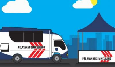 Catat! Berikut Lokasi SIM Keliling di Jakarta Hari Ini