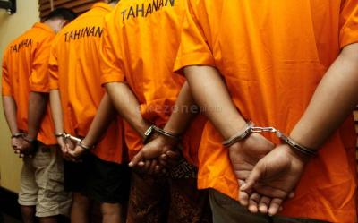 Polres OKI Pindahkan 40 Tahanan Imbas Pengeroyokan Maut