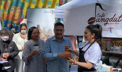 Cafe Dangdut Hadir di New York, Sajikan Kopi Aceh hingga Papua