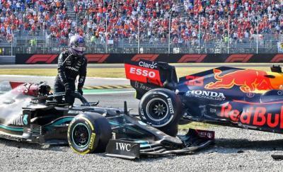 Nyawa Lewis Hamilton Selamat saat Ditabrak Max Verstappen Berkat Teknologi Halo, Apa Itu?