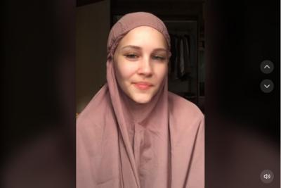 Viral Kisah Model Cantik Prancis Tiphaine Poulon Jadi Mualaf dan Menikah dengan Pria Aceh
