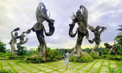 Pesona Taman Dedari Bali, Wisata Bak Negeri Dongeng Lokasi Syuting 'Wonderland Indonesia'