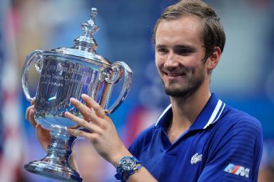 Juara US Open 2021, Daniil Medvedev Dapat Selamat dari Vladimir Putin