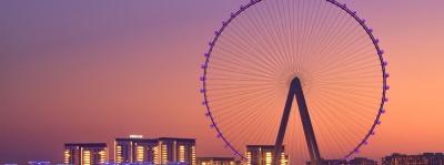 Dubai Punya Kincir Ria Tertinggi di Dunia, Ini Penampakannya