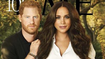 Meghan Markle Bergelimang Perhiasan Rp5,4 Miliar di Cover Majalah TIME