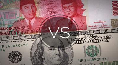 Rupiah Melemah Lawan Dolar AS ke Rp14.252 USD