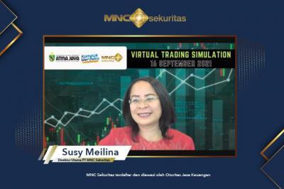 Pacu Edukasi Pasar Modal, MNC Sekuritas x UNIKA Atma Jaya Gelar Virtual Trading Simulation