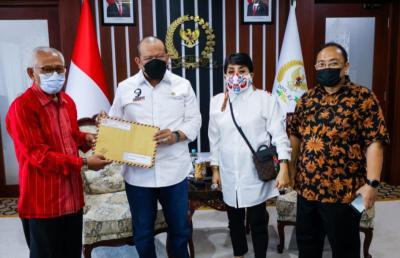 Terima Perkumpulan Penghuni Tanah Surat Ijo Surabaya, Ketua DPD: Kami Serius Perjuangkan Hak Masyarakat