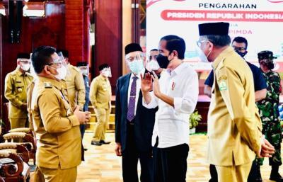 Jokowi: Kunci Gerakkan Ekonomi adalah Pengendalian Covid-19