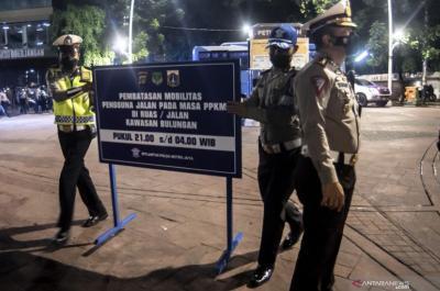 Polisi Berlakukan Crowd Free Nigth di Kawasan Kota Tua Malam Ini