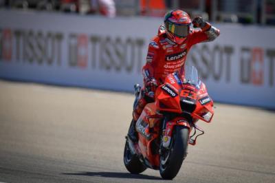 MotoGP San Marino 2021, Francesco Bagnaia: Ini Trek yang Sangat Saya Sukai