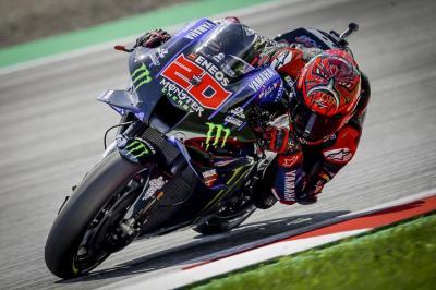 Gagal Naik Podium di MotoGP Aragon 2021, Fabio Quartararo Ingin Bangkit di Sirkuit Misano