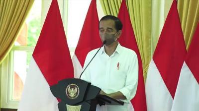 Presiden Jokowi Soroti Gap Vaksinasi Antarkabupaten/Kota di Sumut