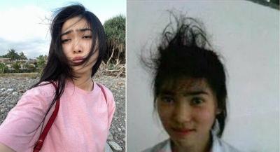 Heboh Foto SMA Isyana Sarasvati dengan Rambut Berantakan, Netizen: Cakep Tapi Gesrek!