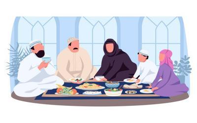 Pola Makan Saat Pandemi dan Memasuki Musim Penghujan Ikuti Cara Rasulullah SAW