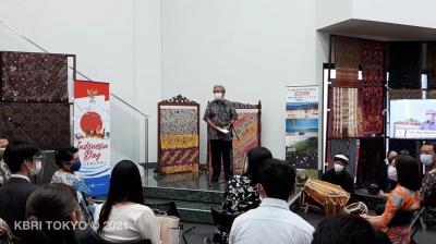 Mahasiswa Universitas Keio Jepang Antusias Belajar Budaya Indonesia