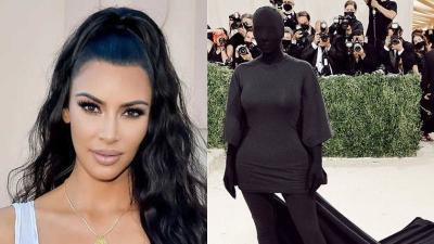 Akhirnya Kim Kardashian Jelaskan Makna Dress 'Hantu' yang Hebohkan Met Gala 2021