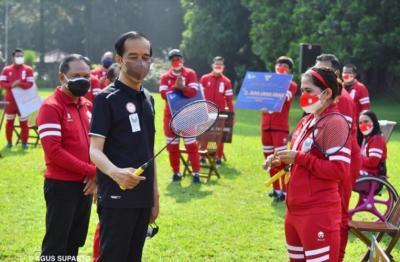 Membanggakan! Ini 5 Momen Tak Terlupakan Jokowi Bertemu Atlet Paralimpiade Tokyo 2020